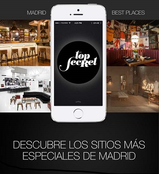 App Top Secret Madrid