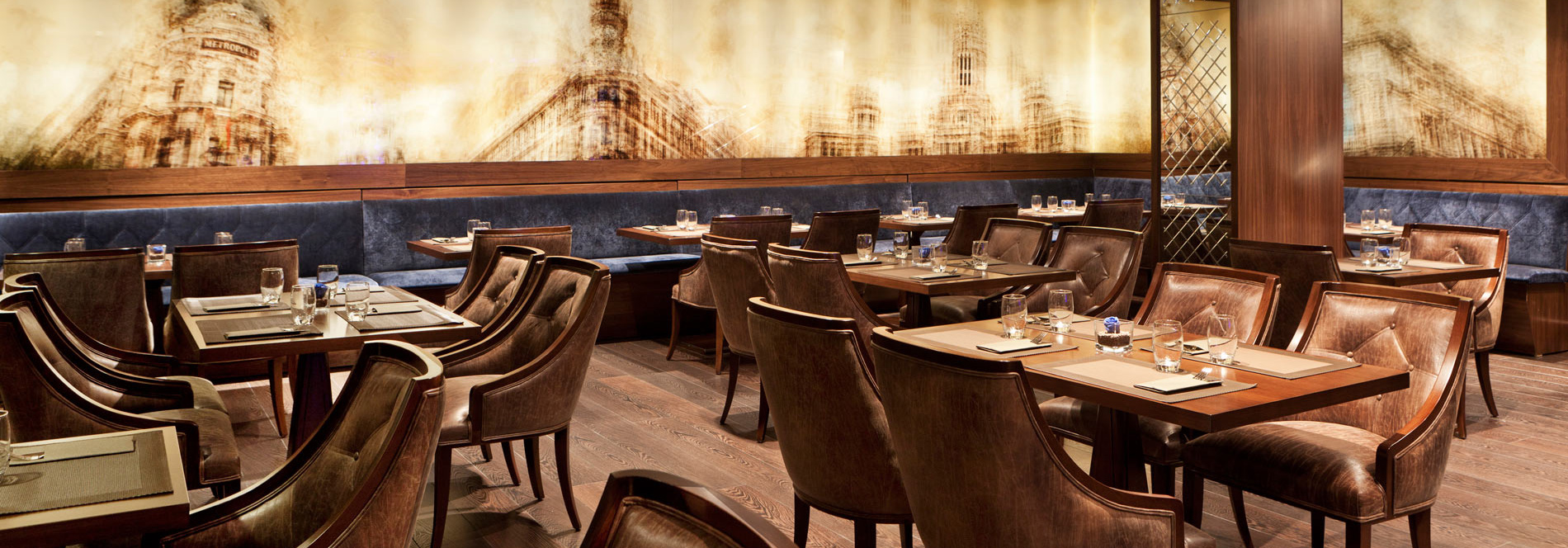 CLARIDGE CAFÉ-RESTAURANT:  tradition and modernity