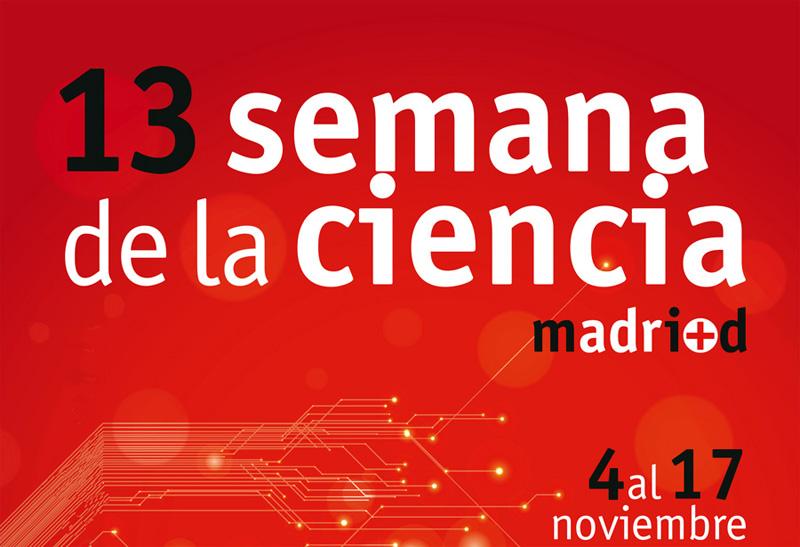 Cartel XIII Semana Ciencia 2013